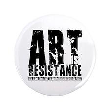 "Art is Resistance 3.5"" Button"