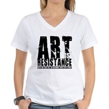 Art is Resistance Shirt