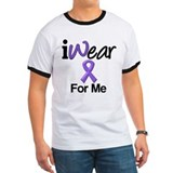 Purple Ribbon Me T