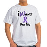 Purple Ribbon Me T-Shirt