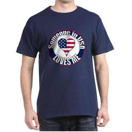 USA Love Dark T-Shirt