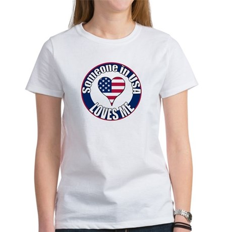 USA Love Women's T-Shirt