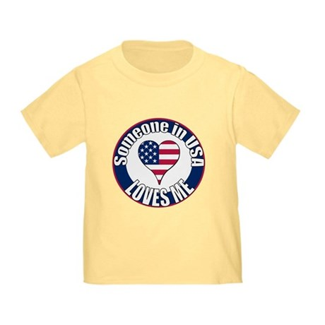 USA Love Toddler T-Shirt