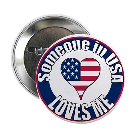 "USA Love 2.25"" Button"