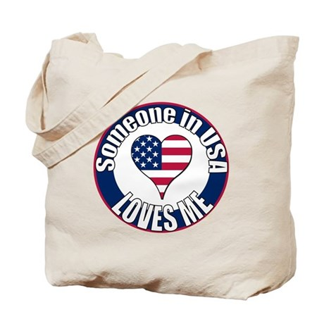 USA Love Tote Bag