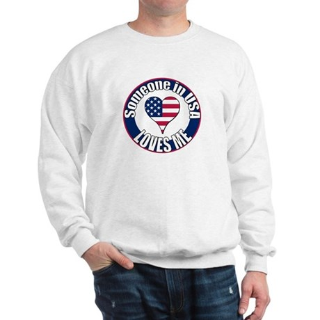 USA Love Sweatshirt