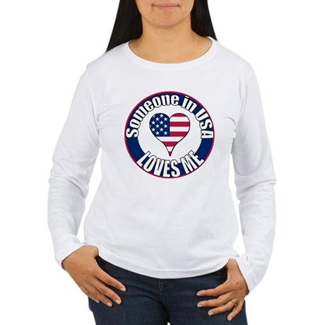 USA Love Women's Long Sleeve T-Shirt