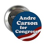 Andre Carson for Congress campaign button