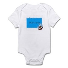 let it snow marine Infant Bodysuit