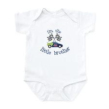 racecar little brother t-shirt Infant Bodysuit