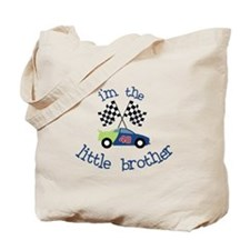 racecar little brother t-shirt Tote Bag