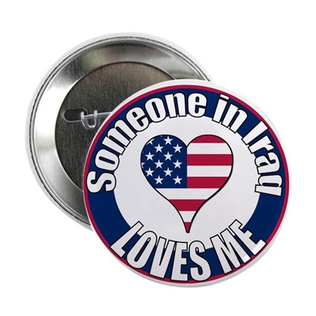 "Iraq Love 2.25"" Button (100 pack)"