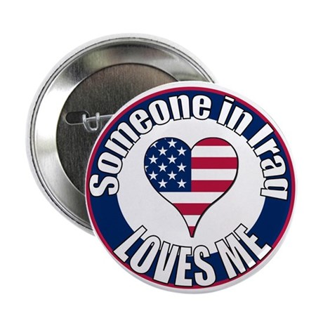 "Iraq Love 2.25"" Button"