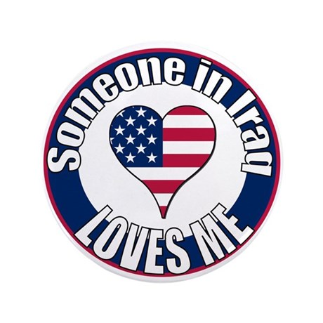 "Iraq Love 3.5"" Button (100 pack)"
