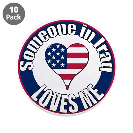 "Iraq Love 3.5"" Button (10 pack)"
