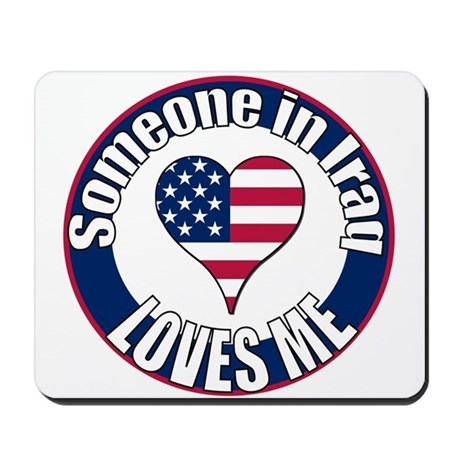 Iraq Love Mousepad