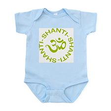 Om Shanti Shanti Shanti Infant Bodysuit
