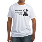 Charles Dickens 3 Fitted T-Shirt