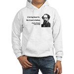 Charles Dickens 3 Hooded Sweatshirt