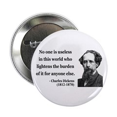 "Charles Dickens 1 2.25"" Button (100 pack)"