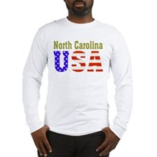 North Carolina USA Long Sleeve T-Shirt
