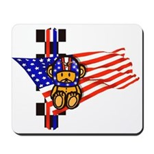 USA Motorsport Fans Mousepad