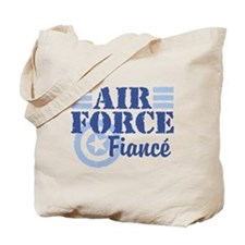 Air Force fiance Tote Bag