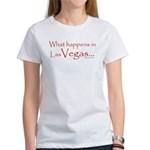 What happens in Las Vegas - Women's T-Shirt