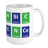 Periodic Table Ceramic Mugs