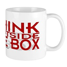 Think Outside Box Small 11oz Mug
