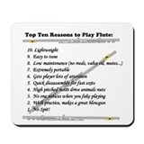 top 10 flute Mousepad