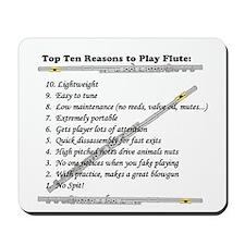 top 10 flute Mousepad