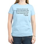 Charles Dickens 19 Women's Light T-Shirt