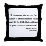 Charles Dickens 19 Throw Pillow
