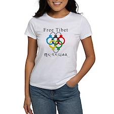2008 Beijing Olympic Handcuffs Women's T-Shirt