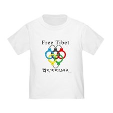 2008 Beijing Olympic Handcuffs Toddler T-Sh