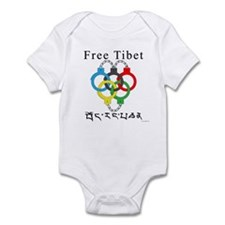 2008 Beijing Olympic Handcuffs Infant Bodysuit