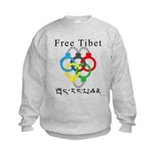 2008 Beijing Olympic Handcuffs Kids Sweatshirt
