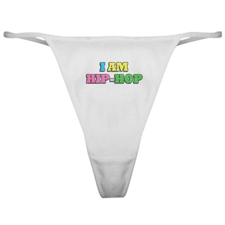 I Am Hip-Hop Classic Thong