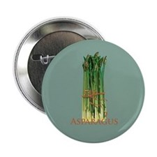 "Green Asparagus 2.25"" Button"