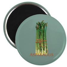 "Green Asparagus 2.25"" Magnet (100 pack)"