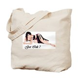 Cool Sexy flower girl Tote Bag