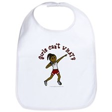 Dark Red Shot Put Bib