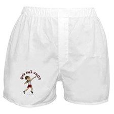 Light Red Shot Put Boxer Shorts