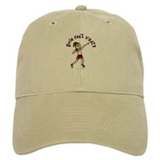 Light Red Shot Put Baseball Cap