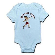 Light Red Shot Put Infant Bodysuit