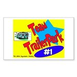 Team Trailer Park Rectangle Sticker
