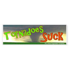 Tornadoes Suck Bumper Sticker