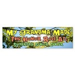 My Grandma Honor Roll Bumper Sticker