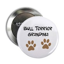 "Big Paws Bull Terrier Mom 2.25"" Button"